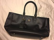 Tory Burch Large Roslyn Tote Black (Authentic)