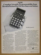 1976 HP-25 HP25 Hewlett-Packard Calculator photo vintage print Ad