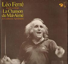 """LEO FERRE """"CHANTE ET DIRIGE LA CHANSON DU MAL-AIME"""" LP BARCLAY 90363"""