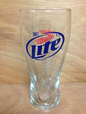 Miller Lite Beer 16 oz Signature Pilsner Glass - Brand New