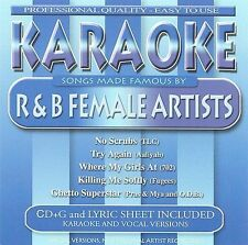 NEW - Karaoke: Songs Made Famous By R&B Female by Various Artists