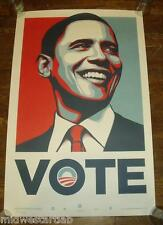 Shepard Fairey President Barack Obama VOTE Art Print Poster #5000 Obey Giant