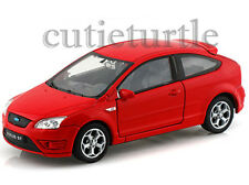 """4.5"""" Welly Ford Focus Diecast Toy Car Red"""