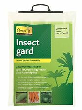 New Gardman Insect Mesh Netting Garden Crop Veg Protection 6m x 2m Wide
