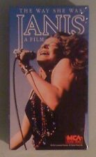 THE WAY SHE WAS JANIS a film  VHS VIDEOTAPE NEW factory sealed/stamped