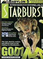 STARBURST 240..SCI FI Magazine .En Anglais .BABYLON 5..GODZILLA..THE X FILES
