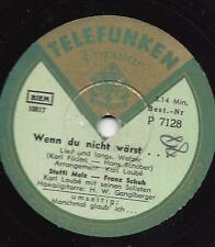 Steffi Melz und Franz Schuh + H.W. Ganglberger  : Wenn du nicht wärst + Manchmal