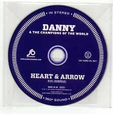 (FC423) Danny & The Champions of the World, Heart & Arrow - 2011 DJ CD