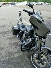 "22"" TALL BACKREST 4 SISSY BAR 4 HARLEY TOURING ROAD KING STREET ELECTRA GLIDE"