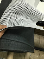 3mm Spacer Mesh Fabric, white with Grey backing, Micro Fiber, Air Flow, Crafts