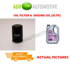 PETROL OIL FILTER + FS 5W30 ENGINE OIL FOR SUZUKI JIMNY 1.3 88 BHP 2000-04
