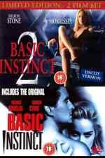 BASIC INSTINCT PART 1 and 2 DVD DOUBLE PACK MOVIE FILM COLLECTION New Sealed UK