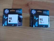 SET 2 GENUINE HP 98 95 CARTRIDGES 5940 100 150 C4140 D5145 FACTORY SEALED
