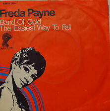 """FREDA PAYNE - BAND OF GOLD / THE EASIEST WAY TO FALL   7""""SINGLE(G503)"""