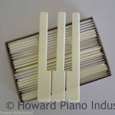 Piano Keytops - Simulated Ivory for replacing key top