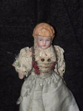 "ANTIQUE CHINA HEAD DOLL HOUSE DOLLHOUSE DOLL 6"" TALL"