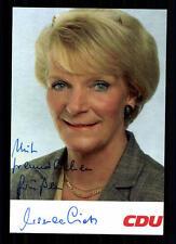 Ursula Lietz autographe carte original signée # BC 29279