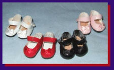 SAVE 30% on 4 pair of Patent Mary Jane SHOES fit 5.5 inch MINI GINNY & PUKI PUKI