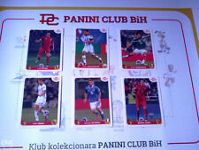 PANINI Coca Cola FIFA BRAZIL WC 2014 RARE BONUS SET of 6 EXTRA STICKERS A-F MINT