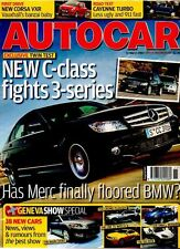 AUTOCAR - 14 March 2007 - New C-class fights 3-Series