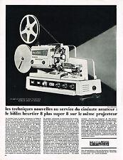 PUBLICITE  1969   HEURTIER   bifilm projecteur
