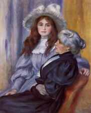 Berthe Morisot And Her Daughter Julie Manet 1894 A3 Box Canvas