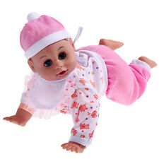 Hot Crawling Baby Laugh Music Say Mama Daddy And Learn Crawl Baby Doll Toys Gift