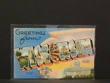 Authentic Postcard, Wisconsin V1#08