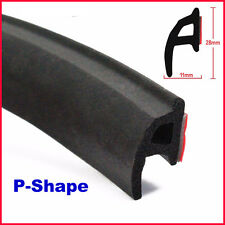 "157"" 4M P-shape Car Truck Motor Door Rubber Seal Strip Weatherstrip Seals Hollow"