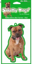 Staffordshire Bull Terrier Air Freshener Staffy Tree Dog Cute Novelty Gift SALE