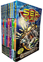 Sea Quest Series 1 and 2 Collection Adam Blade 8 Books Set
