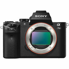 "Sony Alpha A7II Body 24.3mp 3"" Mirrorless Digital Camera New PAYPAL Agsbeagle"