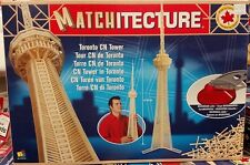 Matchitecture 6612 - Toronto CN Tower Matchstick Model Kit - Tracked 48 Post