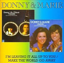 NEW I'm Leaving It All Up To You/make The World Go Away by Donny Osmond CD (CD)