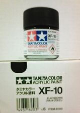 Tamiya acrylic paint. XF-10 Flat brown, 23ml.