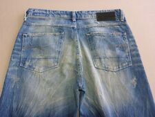 096 WOMENS EX-COND G-STAR RAW 3301 TAPERED FIT BLUE JEANS 27 / -- SHT $230 RRP.
