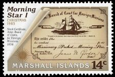 "MARSHALL ISLANDS 82 (Mi58) - Christmas ""Voyage of the Morning Star"" (pa5511)"