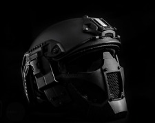 Máscara Rogue One Star Wars hard shell half face Mask casi Helmet airsoft Black