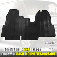 Heavy-Duty Rubber Floor Mat for Ford Transit MK7 2006- 10 Tailored Fit Mats