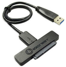 "Slim USB 3.0 to 22 Pin SATA 2.5"" SSD HDD Hard Disk Drive Adapter Cable 3Gbps"