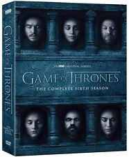 GAME OF THRONES 6 Season The Complete Sixth Season DVD Region 2