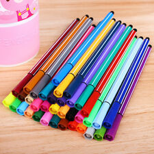 12 Water Coloured Colour Pens Marker textas Non Toxic Kid Painting Drawing