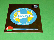 128 BADGE ECUSSON BATE BORISOV UEFA PANINI FOOTBALL CHAMPIONS LEAGUE 2008 2009
