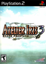 Atelier Iris 3 PS2 New Playstation 2