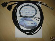 VW Polo 9N Kabelsatz Nebelscheinwerfer NSW nachrüsten Kabelbaum Anschlusskabel