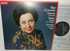 SXL 6910 Schumann Carnaval & Schubert Sonata and Impromptu Alicia De Larrocha