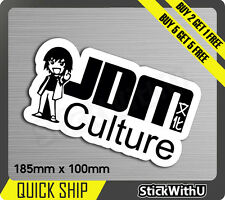 culture Kenji  drive Sticker Decal Vinyl JDM race Car drift Turbo 1V40