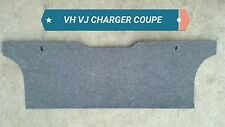 CHARGER VH VALIANT 2 DOOR COUPE REAR SEAT INSULATOR TO BOOT DIVIDER VJ RT