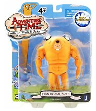 """Adventure Time 5"""" Action Figure Finn In A Jake Suit"""