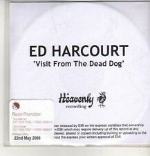 (CO243) Ed Harcourt, Visit From The Dead Dog - 2006 DJ CD